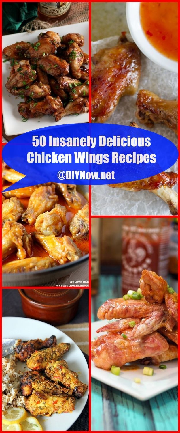 50 Insanely Delicious Chicken Wings Recipes