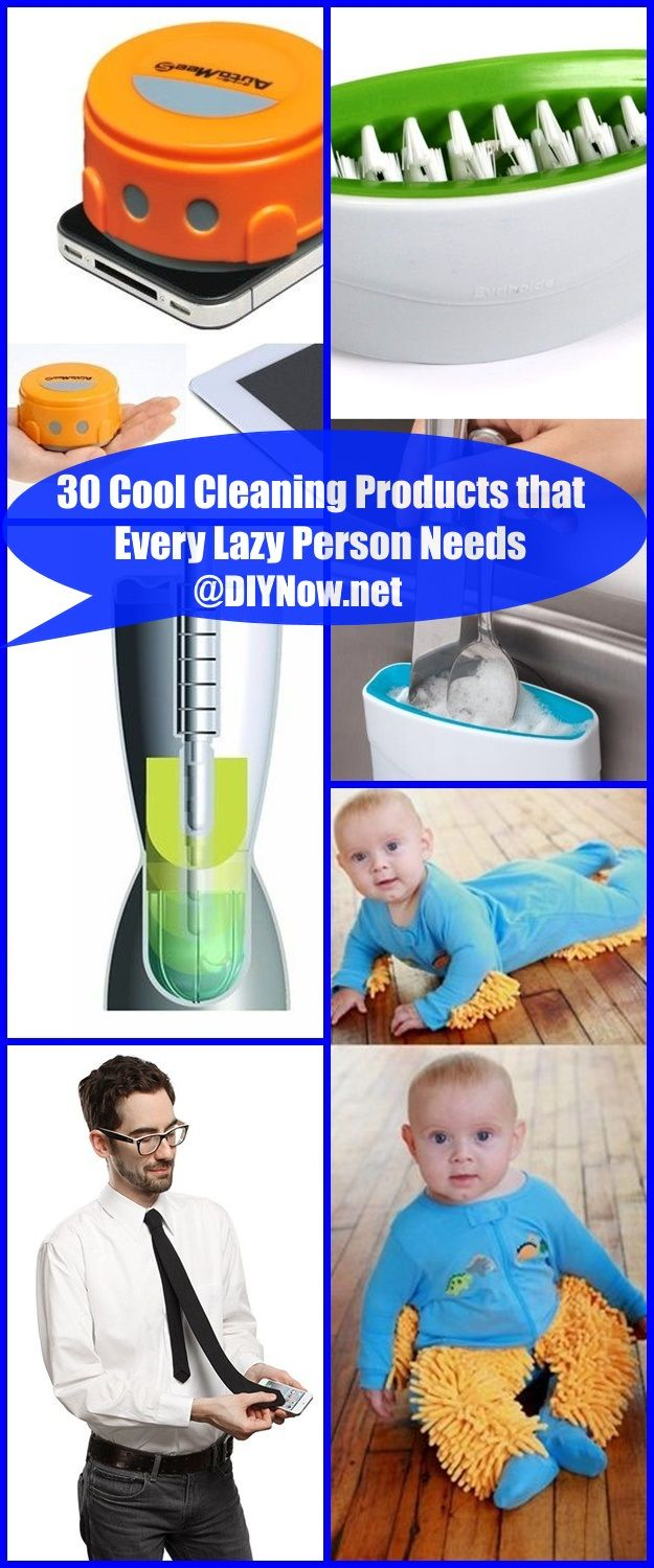30 Cool Cleaning Products that Every Lazy Person Needs