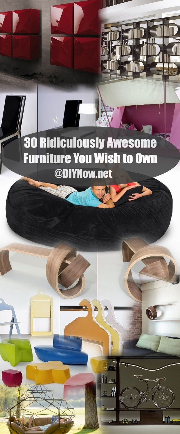 30 Ridiculously Awesome Furniture You Wish to Own
