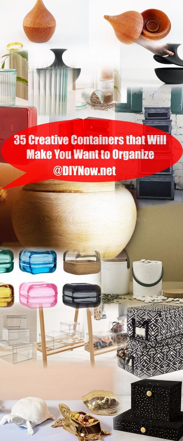 35 Creative Containers that Will Make You Want to Organize