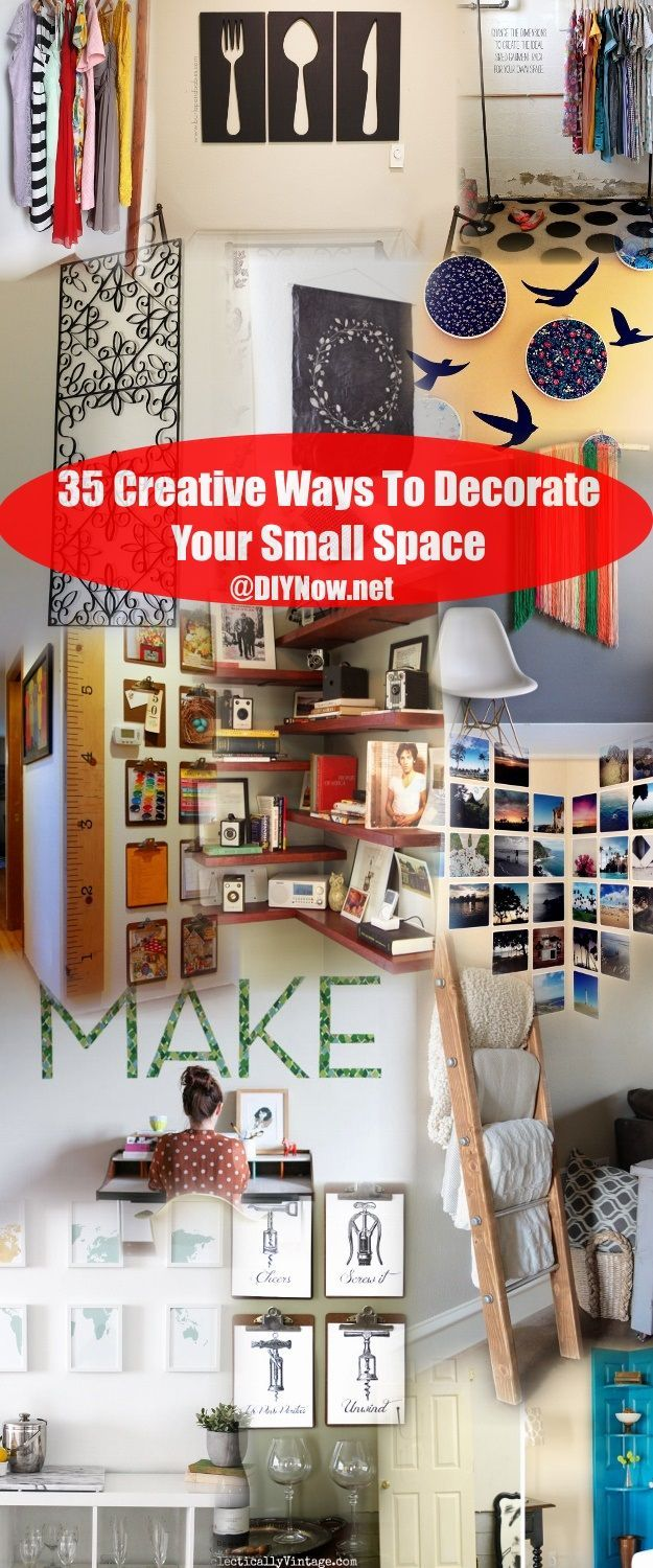 35 Creative Ways To Decorate Your Small Space