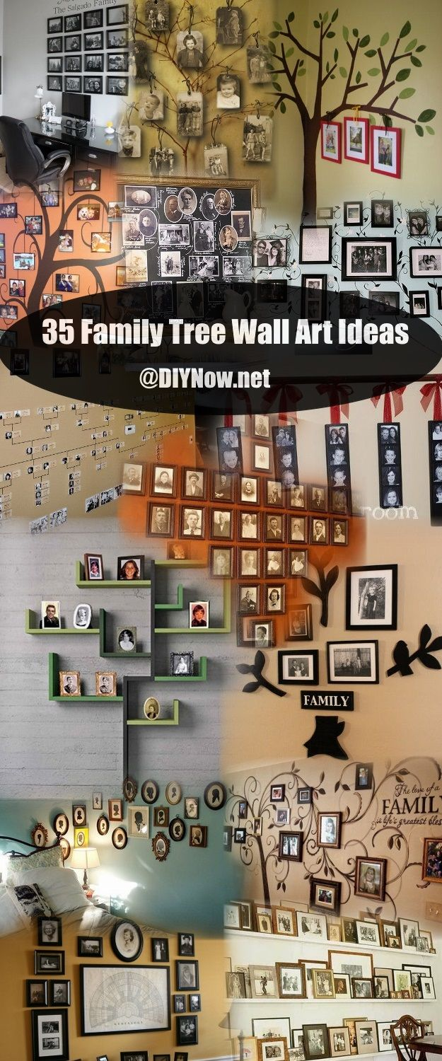 35 Family Tree Wall Art Ideas Diynow Net