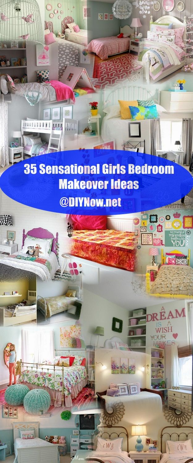 35 Sensational Girls Bedroom Makeover Ideas