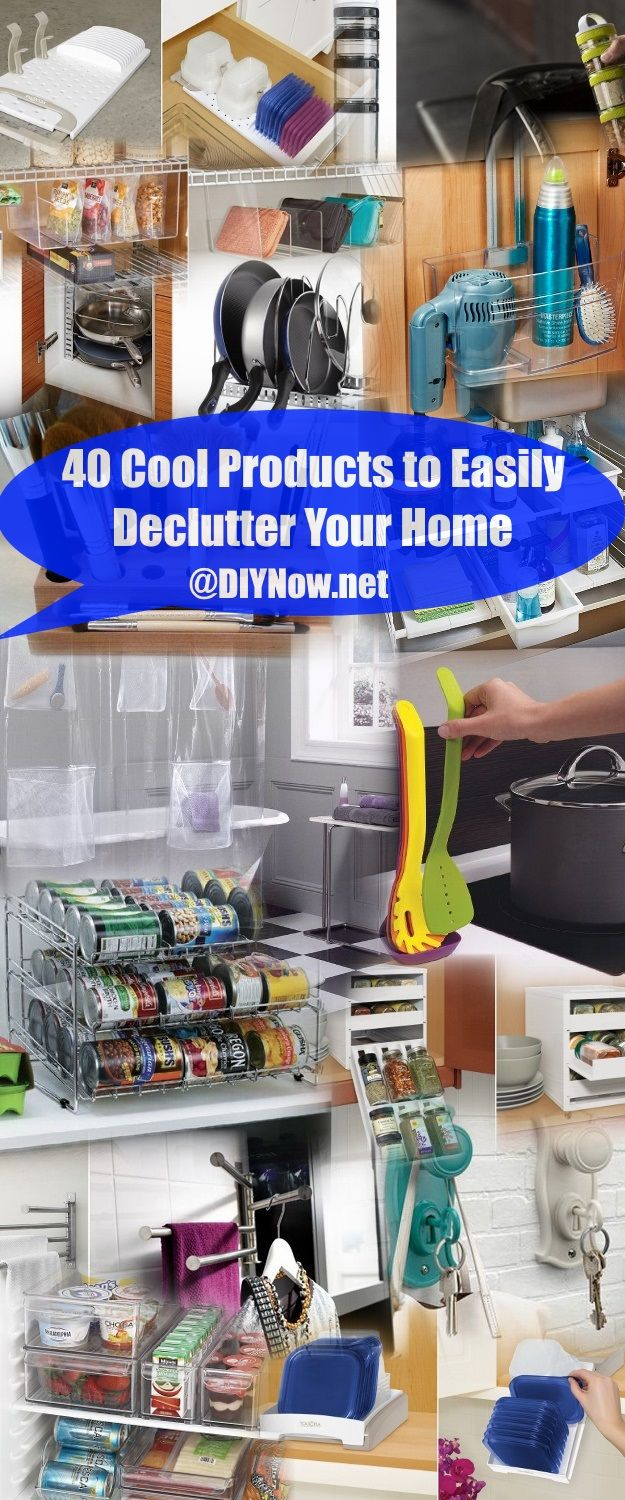 40 Cool Products to Easily Declutter Your Home