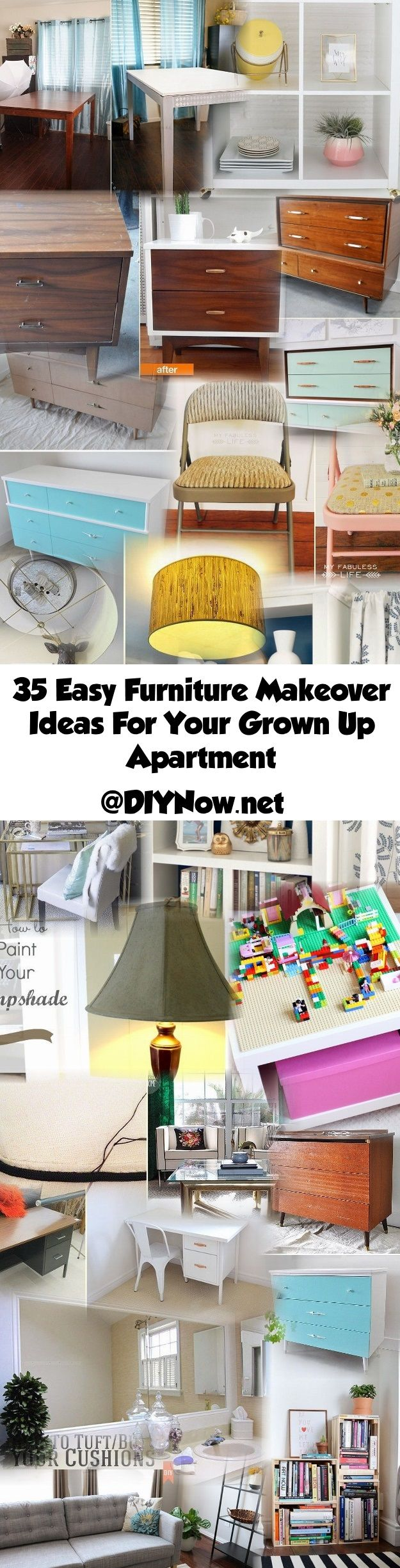 35 Easy Furniture Makeover Ideas For Your Grown Up Apartment