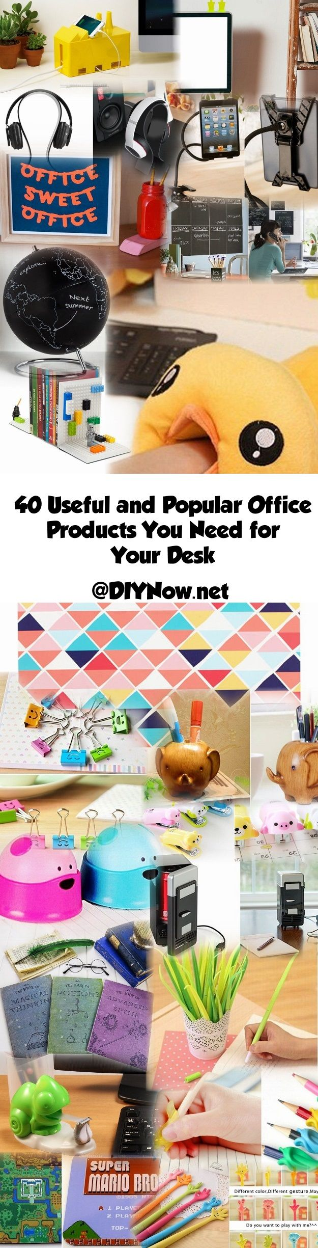 40 Useful and Popular Office Products You Need for Your Desk