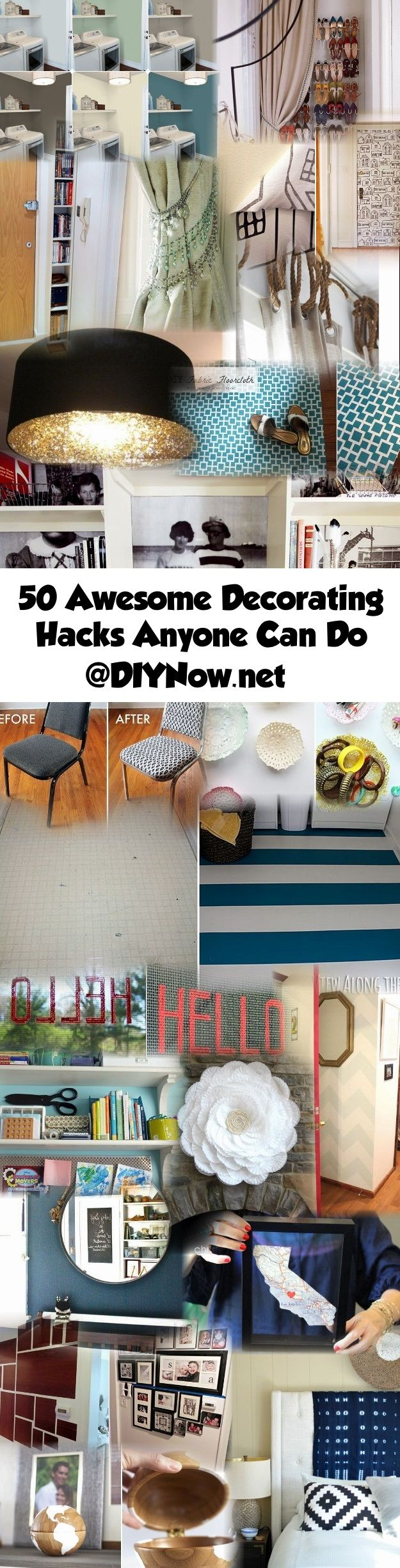 50 Awesome Decorating Hacks Anyone Can Do
