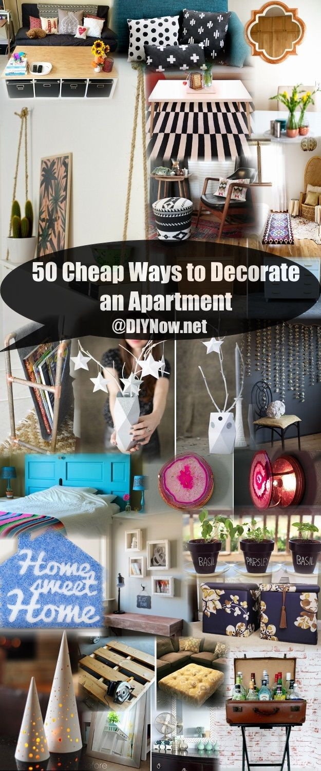 50 cheap ways to decorate an apartment - Cheap ways to decorate your bedroom ...