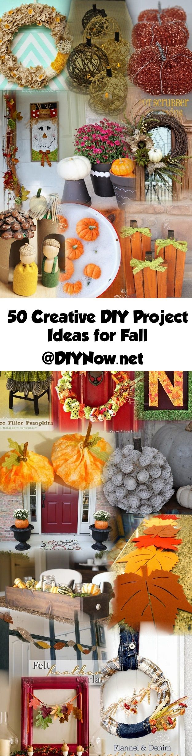 50 Creative DIY Project Ideas for Fall