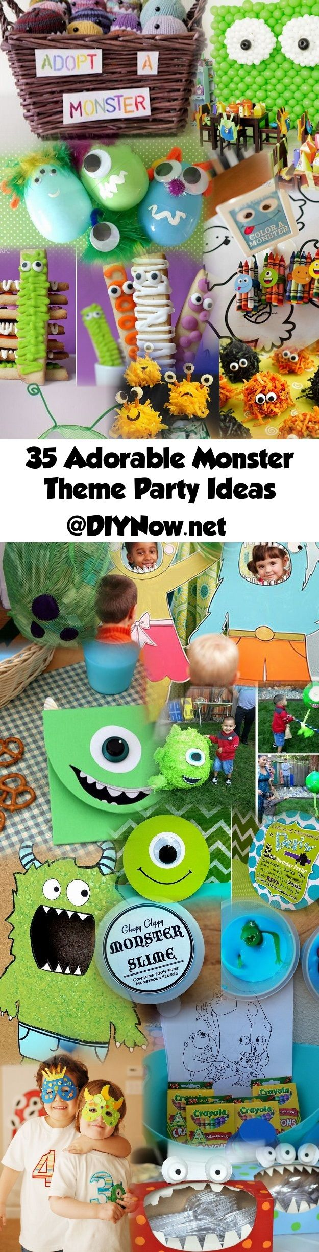 35 Adorable Monster Theme Party Ideas