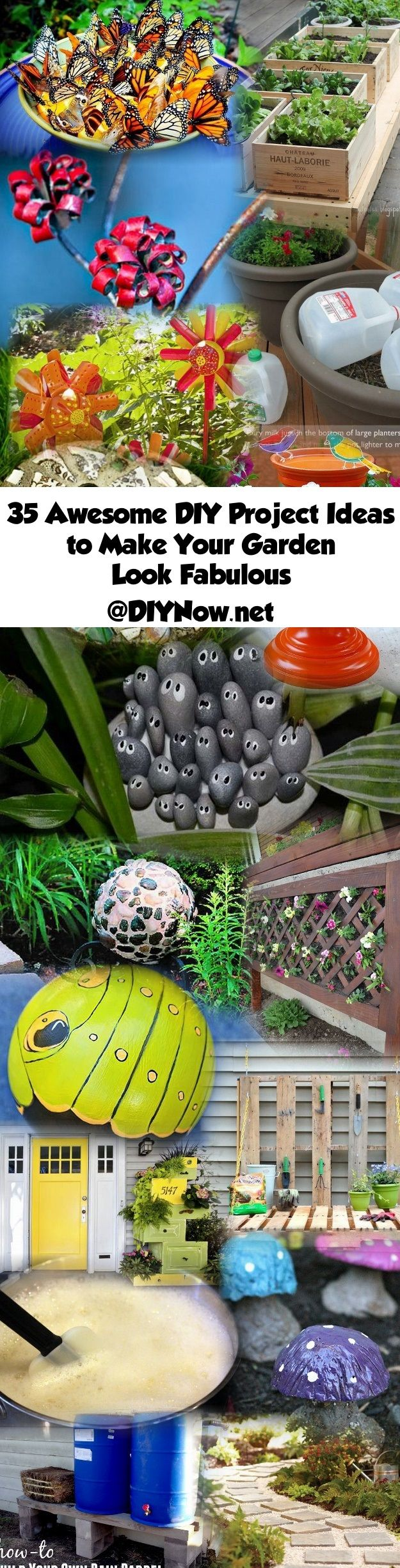35 Awesome DIY Project Ideas to Make Your Garden Look Fabulous