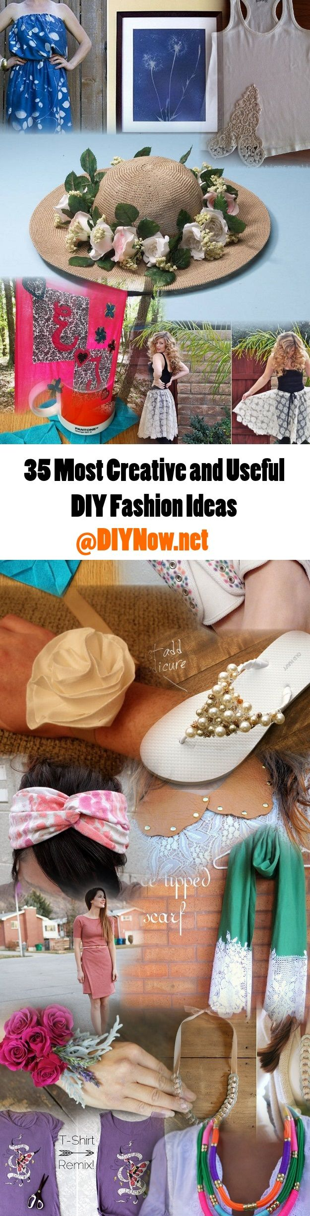 35 Most Creative and Useful DIY Fashion Ideas