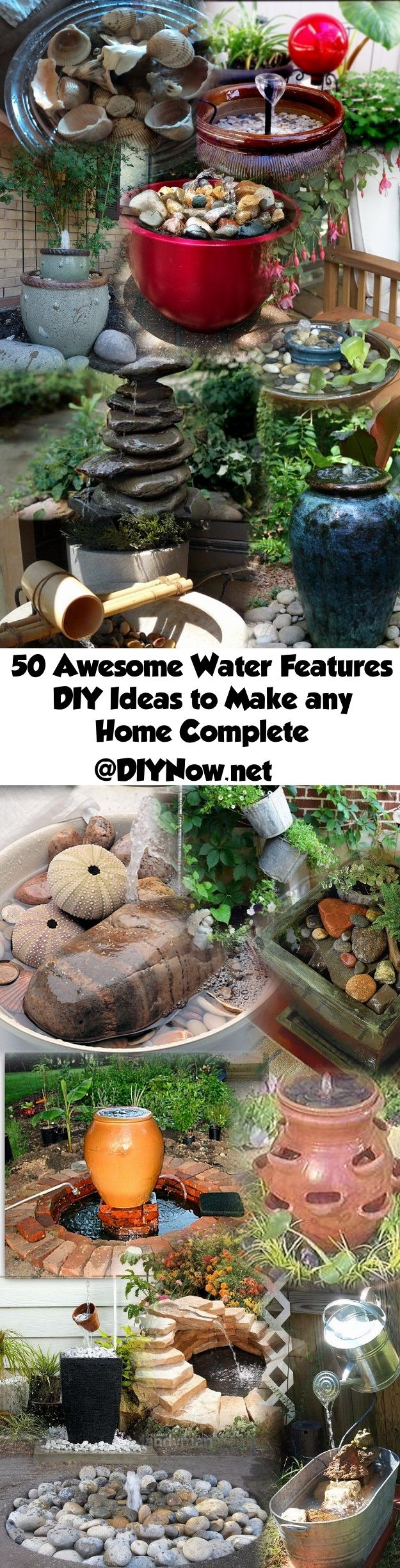 50 Awesome Water Features DIY Ideas to Make any Home Complete