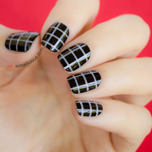 20 Striped Nail Designs You Should Try Page 15 Diynow