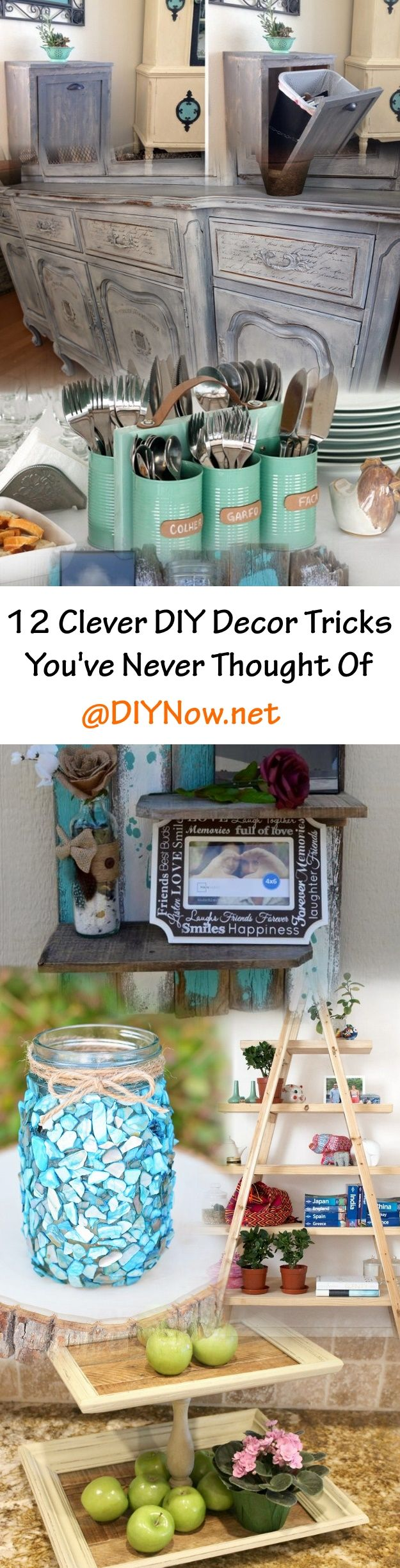 12 Clever DIY Decor Tricks Youve Never Thought Of
