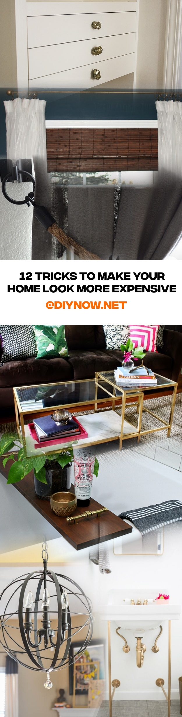 12 Tricks to Make Your Home Look More Expensive