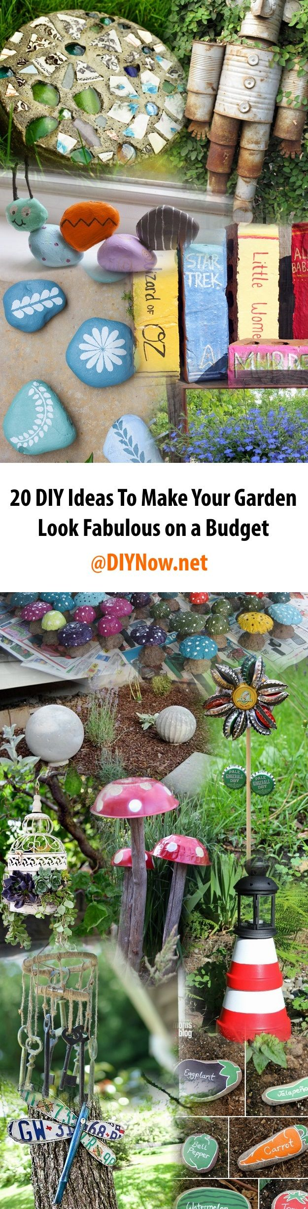 20 DIY Ideas To Make Your Garden Look Fabulous on a Budget