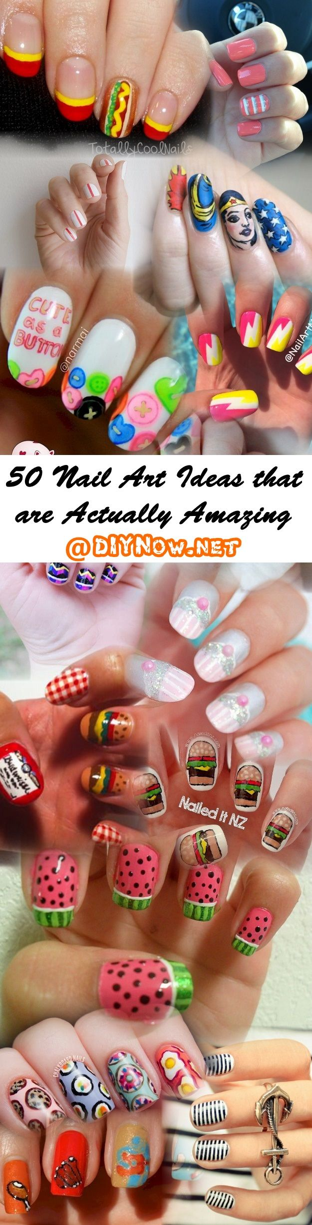 50 Nail Art Ideas that are Actually Amazing