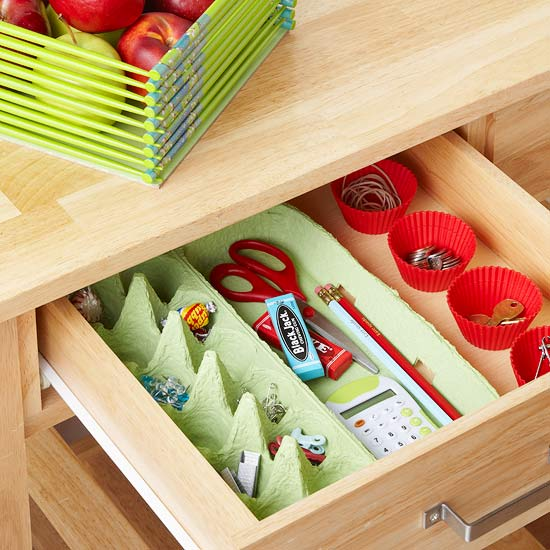Egg Carton Craft Compartments