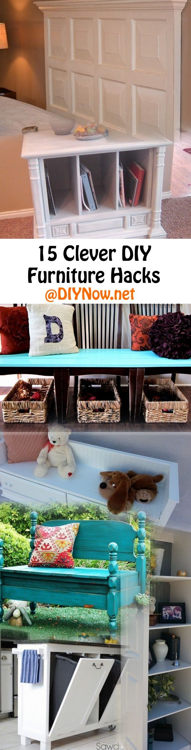 15 Clever DIY Furniture Hacks