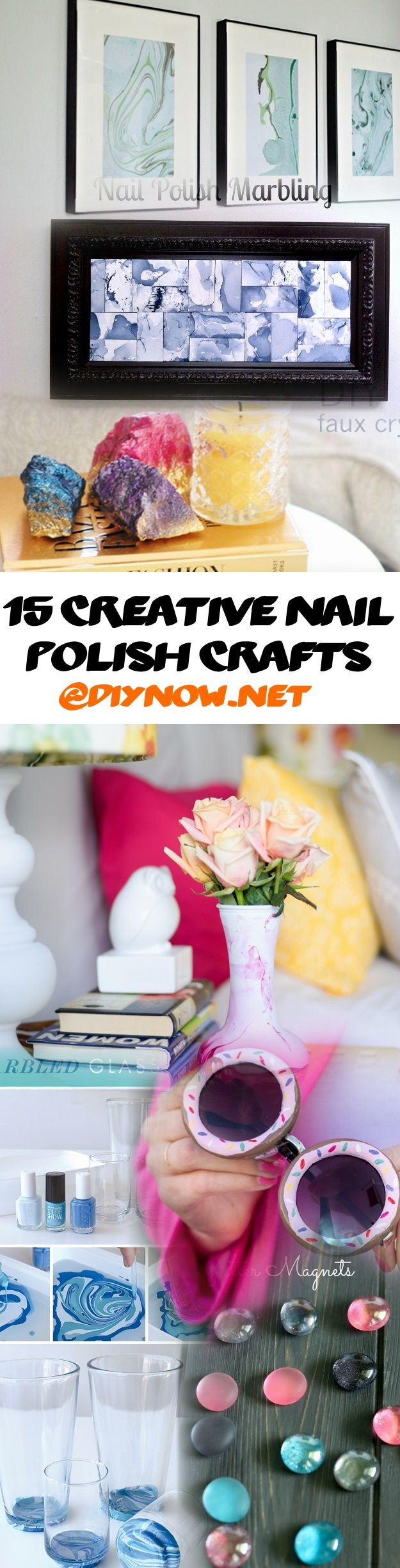 15 Creative Nail Polish Crafts