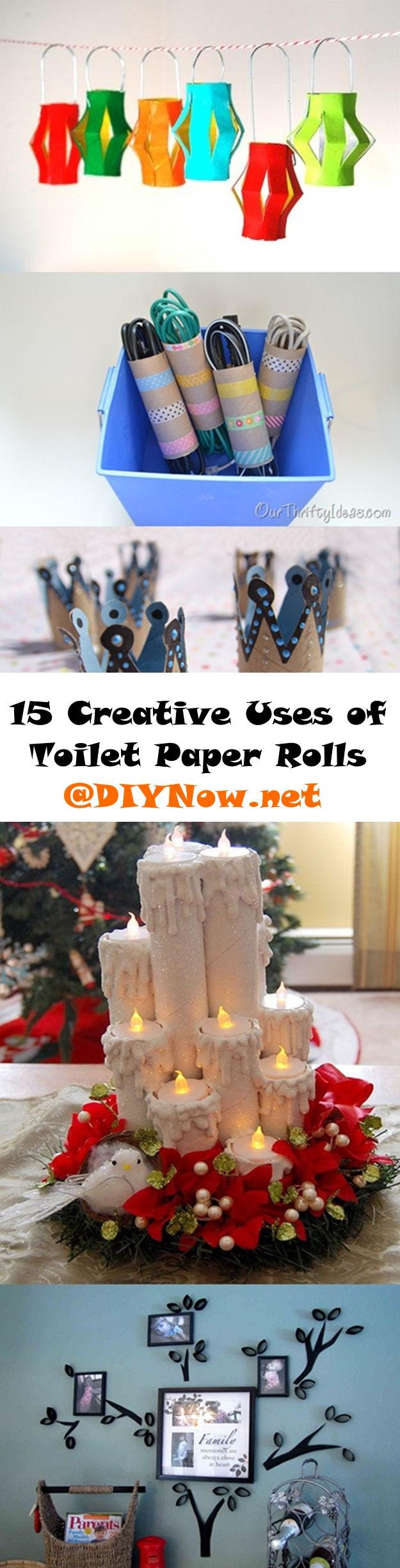15 Creative Uses of Toilet Paper Rolls