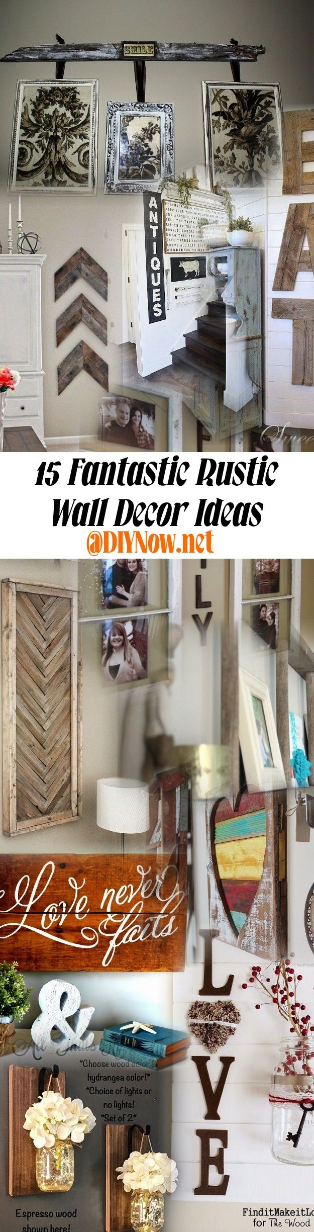 15 Fantastic Rustic Wall Decor Ideas