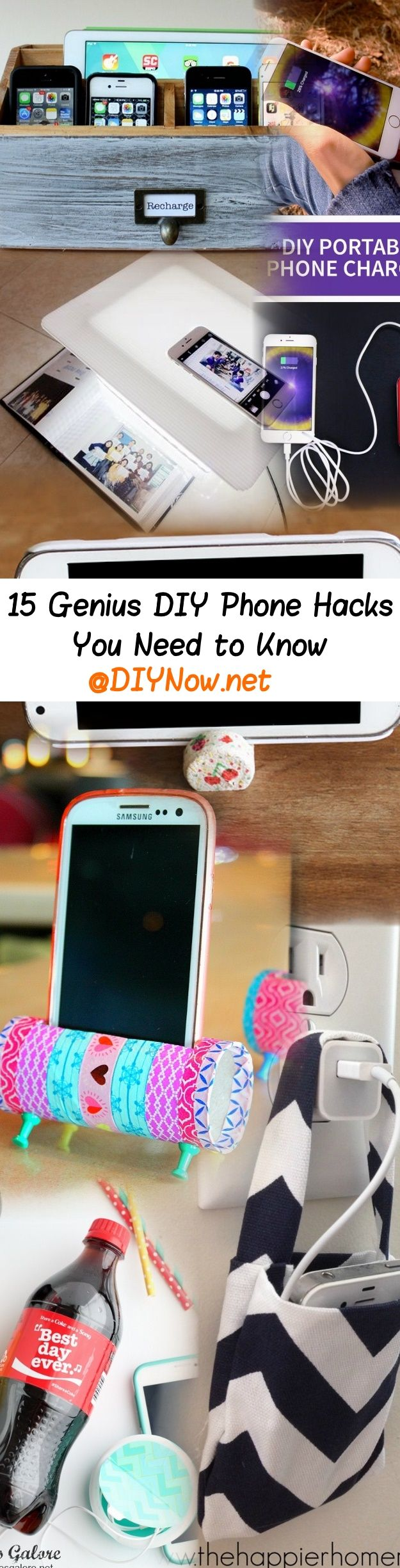 15 Genius DIY Phone Hacks You Need to Know